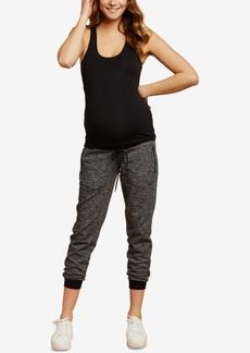 Jessica Simpson Maternity Zip-Cuff Jogger Pants