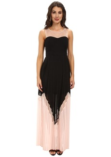 Jessica Simpson Maxi Dress w/ Mesh Yoke
