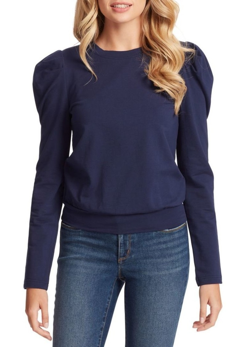 Jessica Simpson Mia Puffed-Sleeve Top