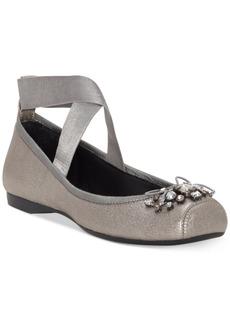 Jessica Simpson Miaha Embellished Ballet Flats Women's Shoes