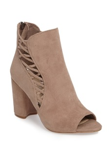 Jessica Simpson Millo Open Toe Bootie (Women)