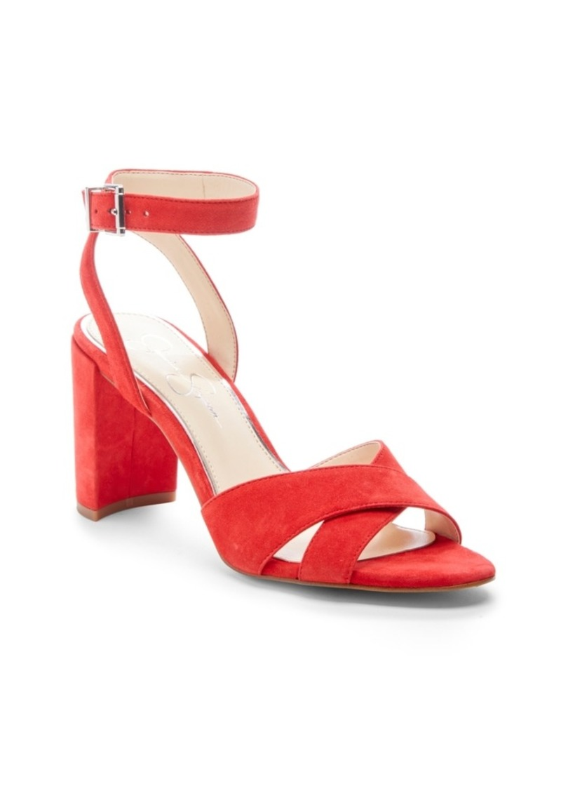 Jessica Simpson Niara Block Heel Sandals Women's Shoes