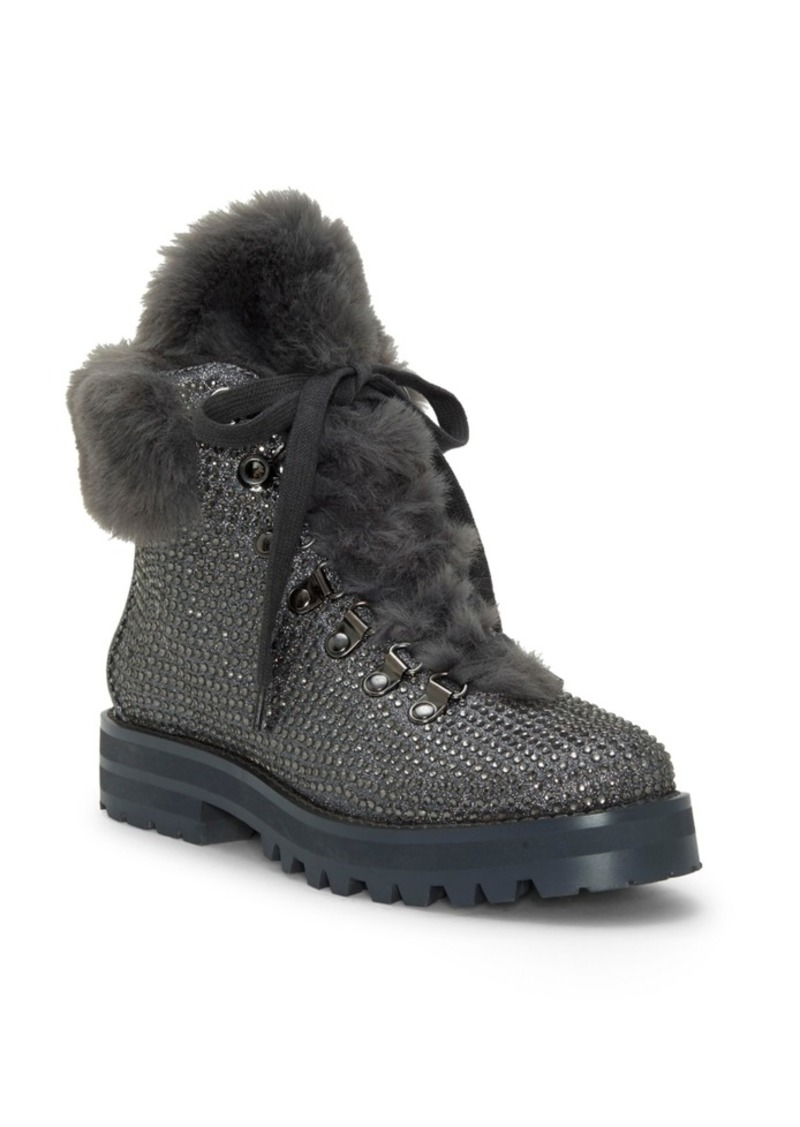 Jessica Simpson Norina Embellished Hiker Booties Women's Shoes