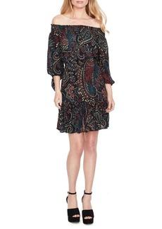 Jessica Simpson Off-The-Shoulder Dress