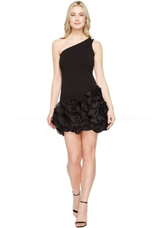 Jessica Simpson One Shoulder Ruffle Hem Dress