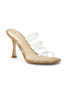 Jessica Simpson Oniela Clear Strap Slide Sandal (Women)