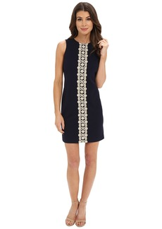 Jessica Simpson Ottoman Shift Dress with Lace Detail