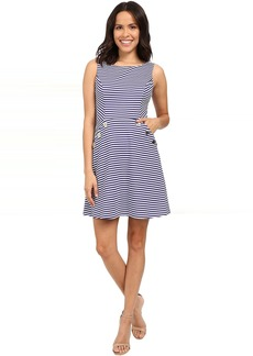 Jessica Simpson Ottoman Stripe Knit Dress JS6D8674
