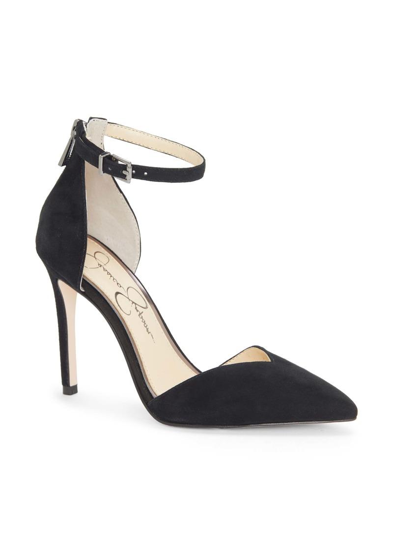 Jessica Simpson Paisleah Ankle Strap Pump (Women)