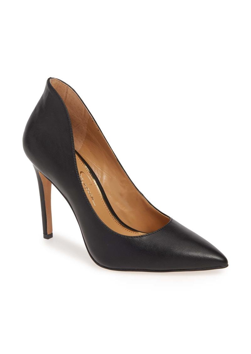 Jessica Simpson Parthenia Pointed Toe Pump (Women)
