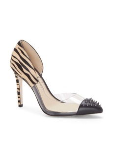 Jessica Simpson Payve 2 Genuine Calf Hair d'Orsay Pump (Women)