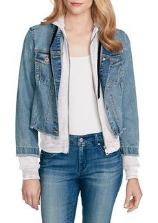 Jessica Simpson Peony Twofer Denim Jacket