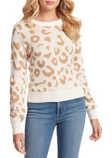 Jessica Simpson Perry Printed Sweater