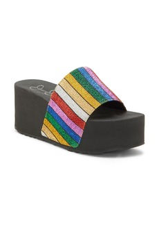 Jessica Simpson Platform Slide Sandal (Women)