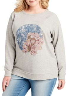 Jessica Simpson Plus Graphic Sweatshirt