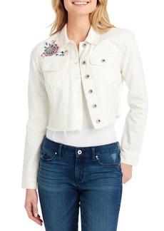 Jessica Simpson Plus Pixie Classic Denim Jacket