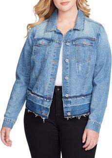 Jessica Simpson Plus Trendy Pixie Denim Jacket