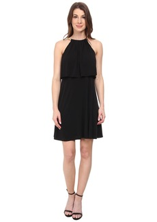 Jessica Simpson Popover Bungee Necklace Dress