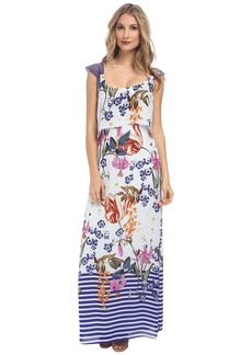 Jessica Simpson Popover Maxi Dress JS5V6927