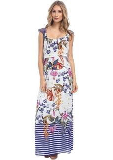 Jessica Simpson Popover Maxi Dress JS5V6927