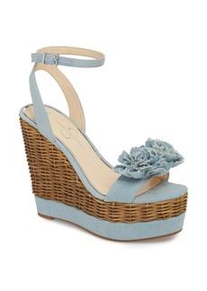 Jessica Simpson Pressa Platform Wedge Sandal (Women)