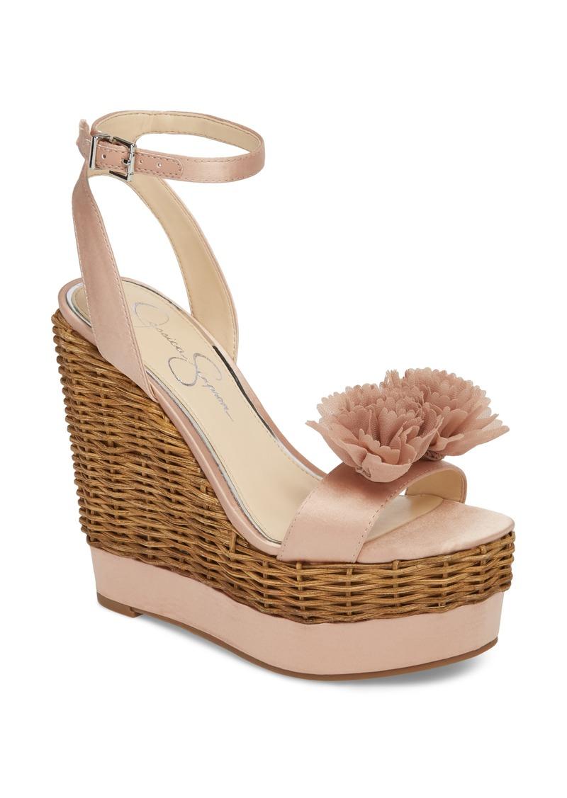 1768650c961 Jessica Simpson Jessica Simpson Pressa Platform Wedge Sandal (Women ...