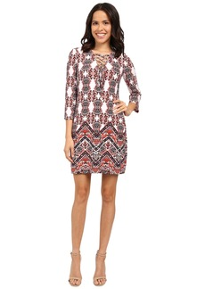 Jessica Simpson Printed Boho Dress JS6D8700