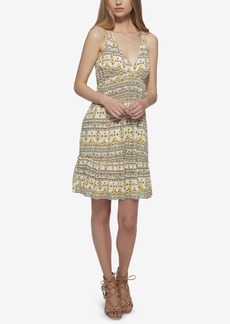 Jessica Simpson Printed Double-Strap Sundress