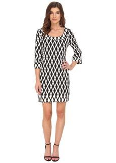 Jessica Simpson Printed Ponte Shift Dress JS5U6934