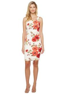 Jessica Simpson Printed Scuba Dress