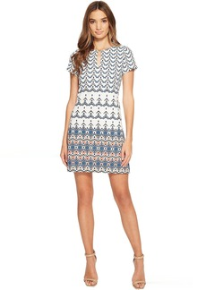 Jessica Simpson Printed T-Shirt Dress