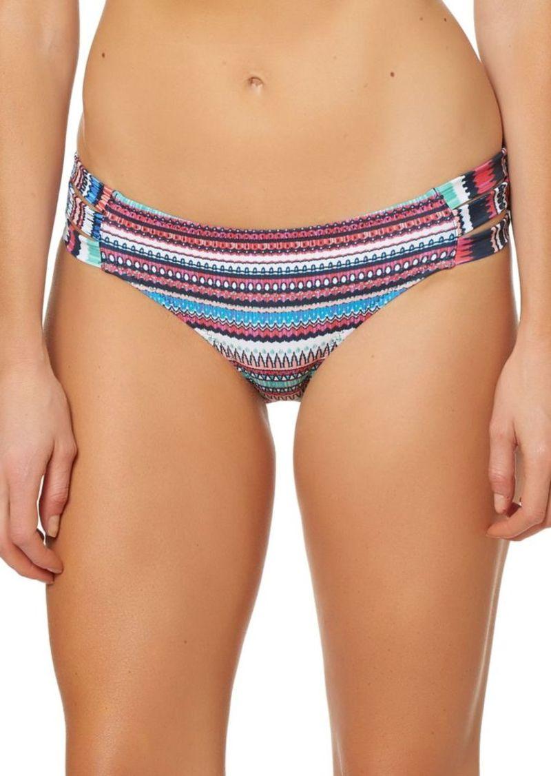 3bc2e002ee48a Jessica Simpson Jessica Simpson Printed Thick Side-Strap Bikini ...
