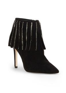 Jessica Simpson Prista Fringe Dress Booties Women's Shoes