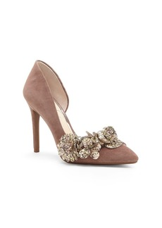 Jessica Simpson Pruella Embellished D'orsay Pumps Women's Shoes
