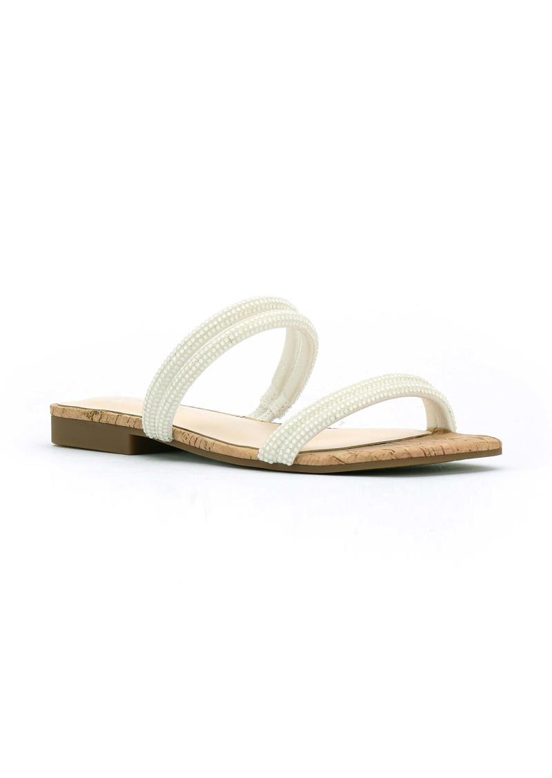 Jessica Simpson Raexe 2 Embellished Slide Sandal (Women)