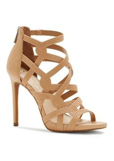 Jessica Simpson Rainah Leather Stiletto Sandals