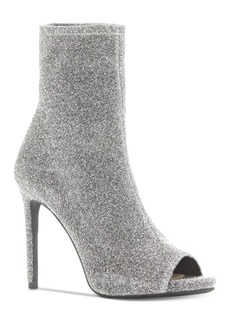 Jessica Simpson Rainer Peep-Toe Booties Women's Shoes