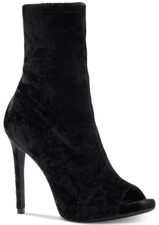 Jessica Simpson Rainer Peep-Toe Booties Women's Shoes