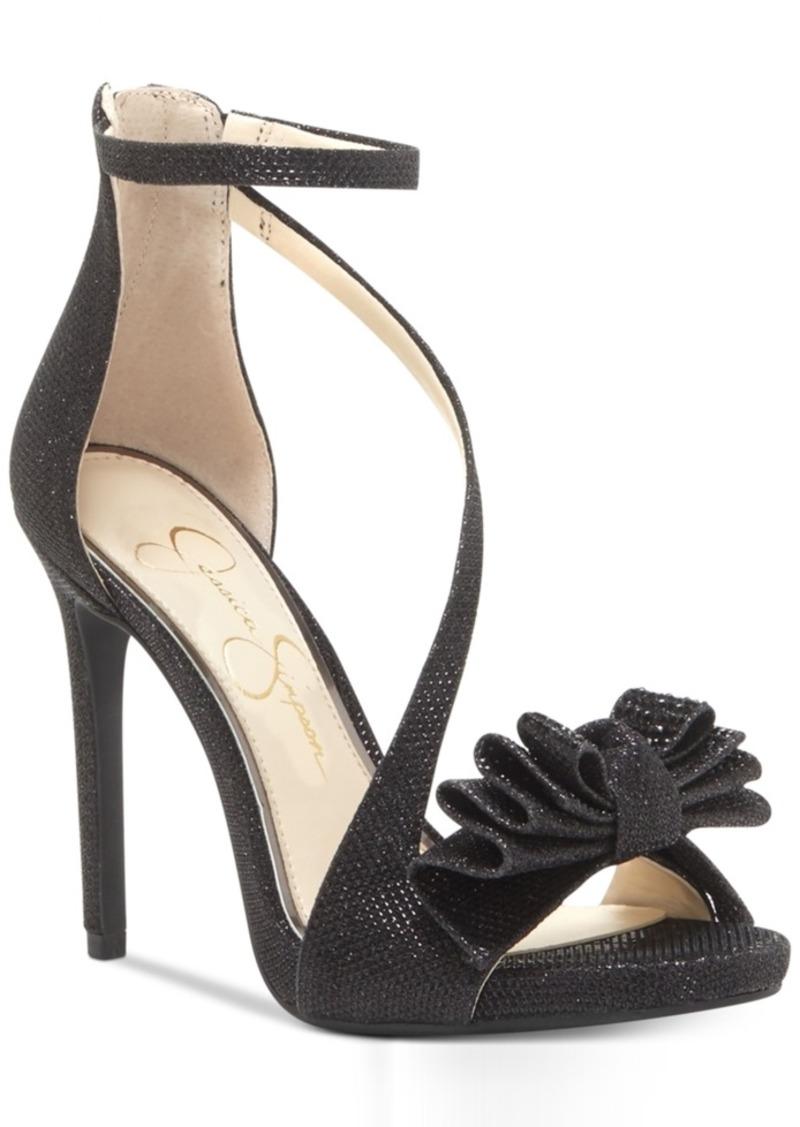 b9b1b590268d Jessica Simpson Jessica Simpson Remyia Bow Dress Sandals Women s ...