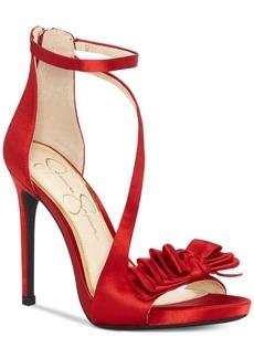 Jessica Simpson Remyia Satin Dress Sandals Women's Shoes