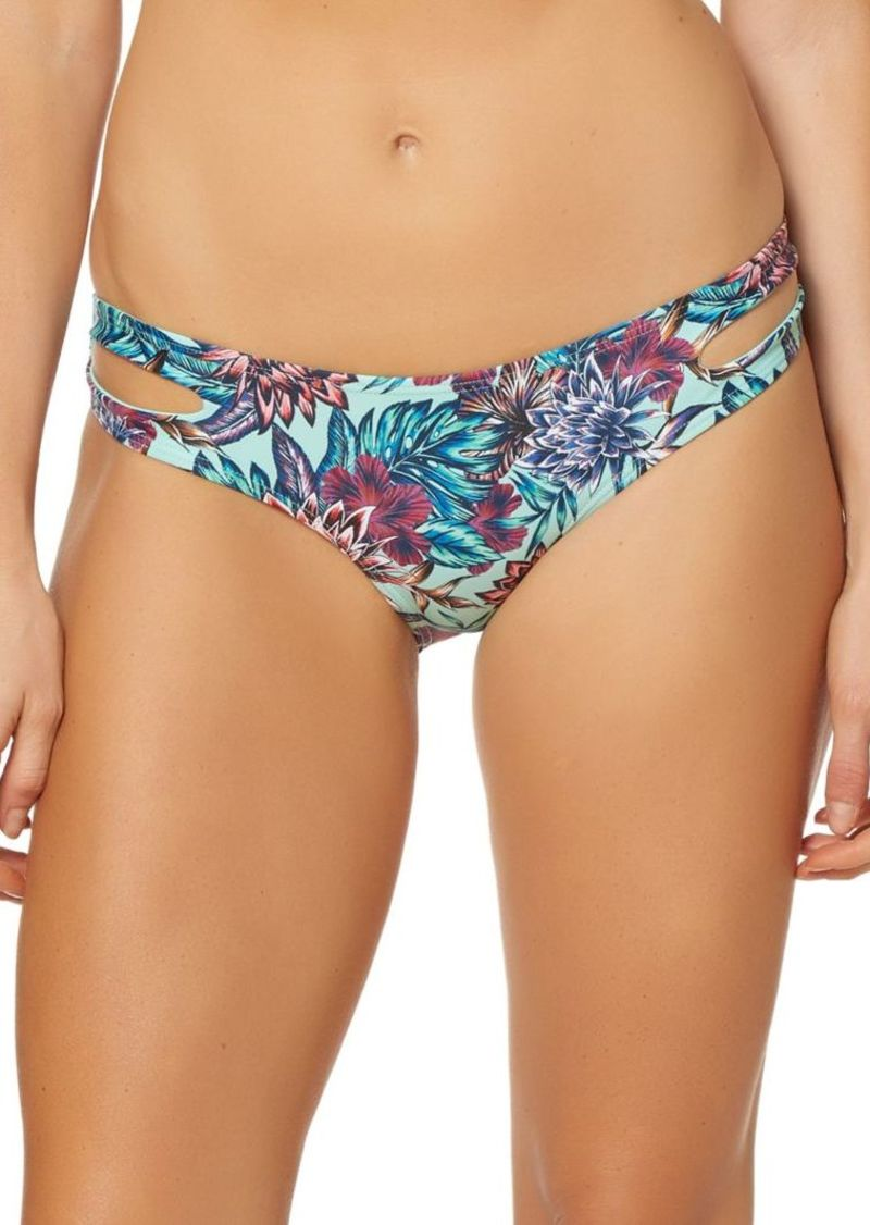 3dfcfaa4bd Jessica Simpson Jessica Simpson Reversible Split-Side Bikini Bottoms ...