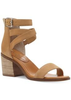 Jessica Simpson Reyvena Cross-Strap Block-Heel Sandals Women's Shoes