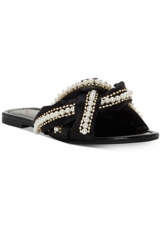 Jessica Simpson Rhondalin Braided Flat Sandals Women's Shoes