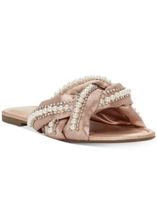 Jessica Simpson Rhondalin Braided Flat Sandals Women's Shoes