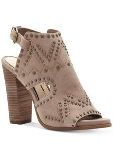 Jessica Simpson Rhylee Studded Block Heel Sandals Women's Shoes
