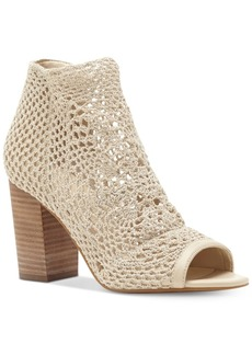 Jessica Simpson Rianne Crochet Block-Heel Sandals Women's Shoes