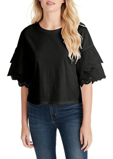 Jessica Simpson Rina Woven Cotton Top