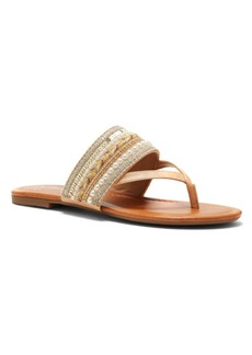 Jessica Simpson Ronnet Beaded Thong Sandals