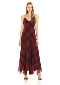 Jessica Simpson Rosalind Dress RED PLAID S