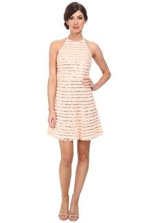 Jessica Simpson Rosette Halter Dress w/ Sequin